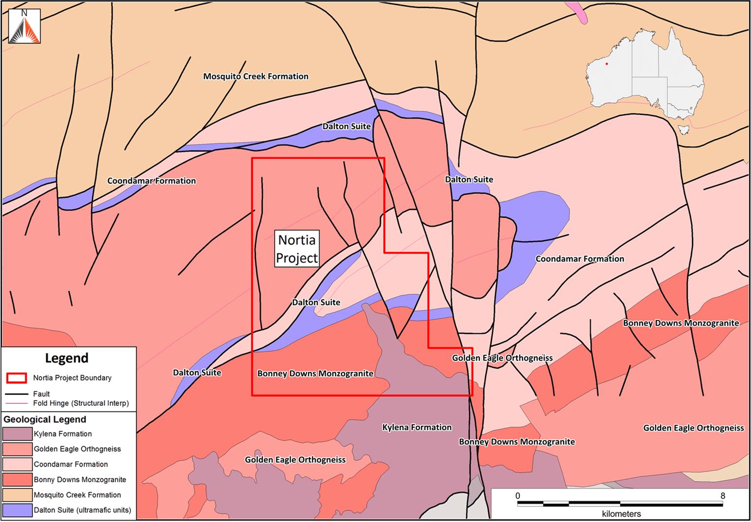 Nortia Project - gold mine in Western Australia's Pilbara region